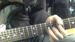 [cover]wishbone ash Sometime World [slow]guitar solo Pt.1