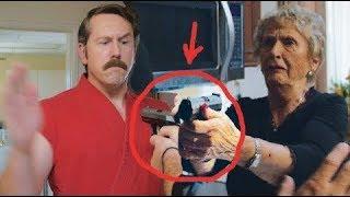 """Самооборона для бабушки - Урок 1 """"Оружие"""" (Частные уроки Мастера Кена)"""
