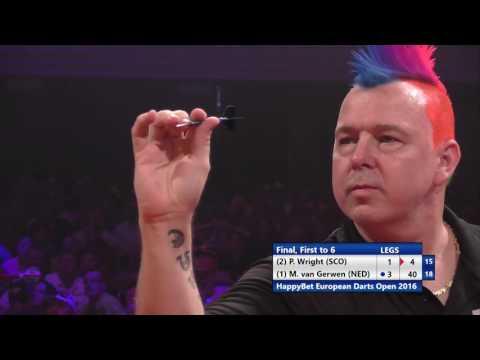 HappyBet European Darts Open final - Michael van Gerwen v Peter Wright