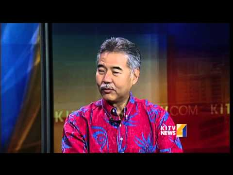 State Sen. David Ige weighs in on Hawaii