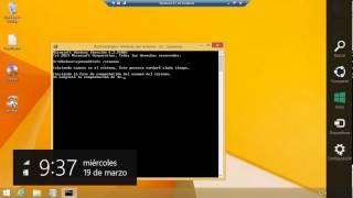 Reparar archivos del sistema dañados en Windows 8.1 con sfc /scannow