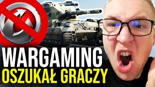 WARGAMING OSZUKAŁ GRACZY - World of Tanks