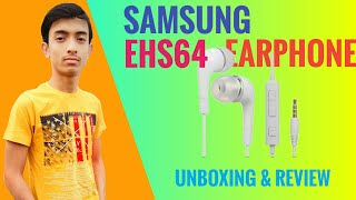 Samsung Earphone Unboxing And Review Samsung EHS64