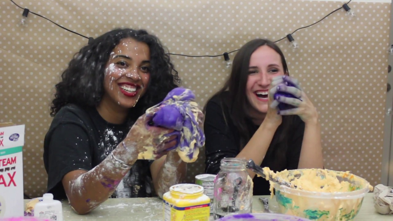 how to make fluffy galaxy slime