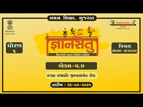 BRIJ COURSE Class redination GYANSETU HOME TO LEARNING STD -3 TO 10 EPISODE LIVE SHOW DATE-22-6-2021