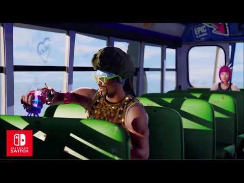 Fortnite Trailer music Nintendo switch - Confectie - Right now