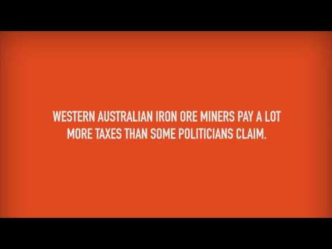 CME Iron Ore Tax Campaign - WA Miners Pay A Lot More Than 25 Cents Per Tonne