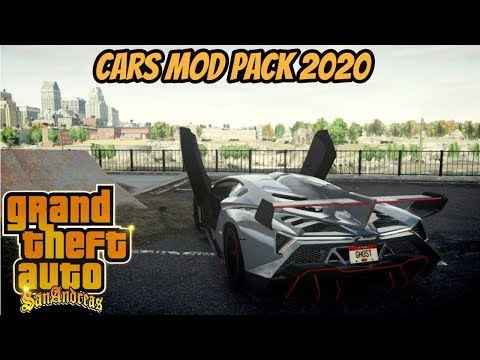 GTA San Cars Mod Pack 2020 With All Sound