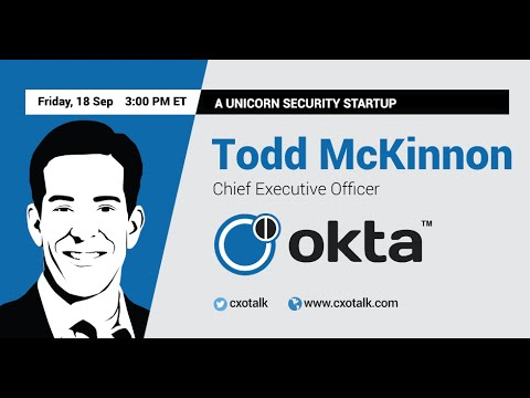 #134: A Unicorn Security Startup with Todd McKinnon, CEO, Okta