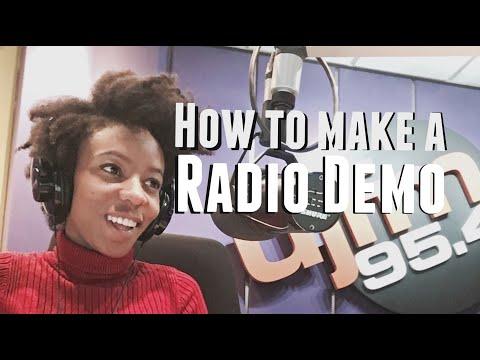 Radio Presenter Demo