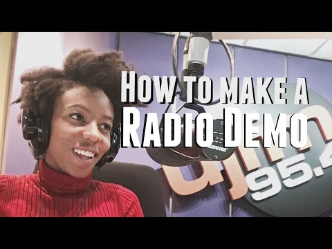 Radio Presenter Demo