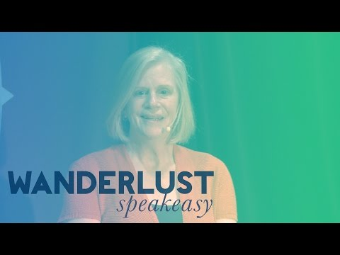 """The Power of Authentic Leadership"" Susan Skjei at Wanderlust Festival's Speakeasy"