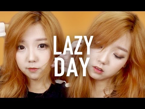 lazy day makeup tutorial for beginners easy  quick
