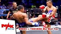 BRAZIL vs THAILAND, Walter Goncalves VS Chalampetch Pojseemummuang, Max Muay Thai