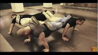 Поднимем Зад - Workout Underground или Тренировка в Метро.