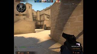 CS:GO One Tap and Knife Clip (sorry for low quality)