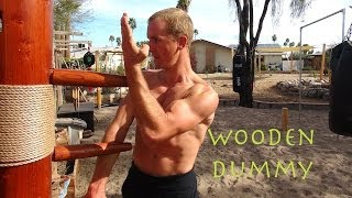 "Wing Chun Wooden Dummy Training - The New ""ip Man"" - Mook Yan Jong - Mu Ren Zhuang"
