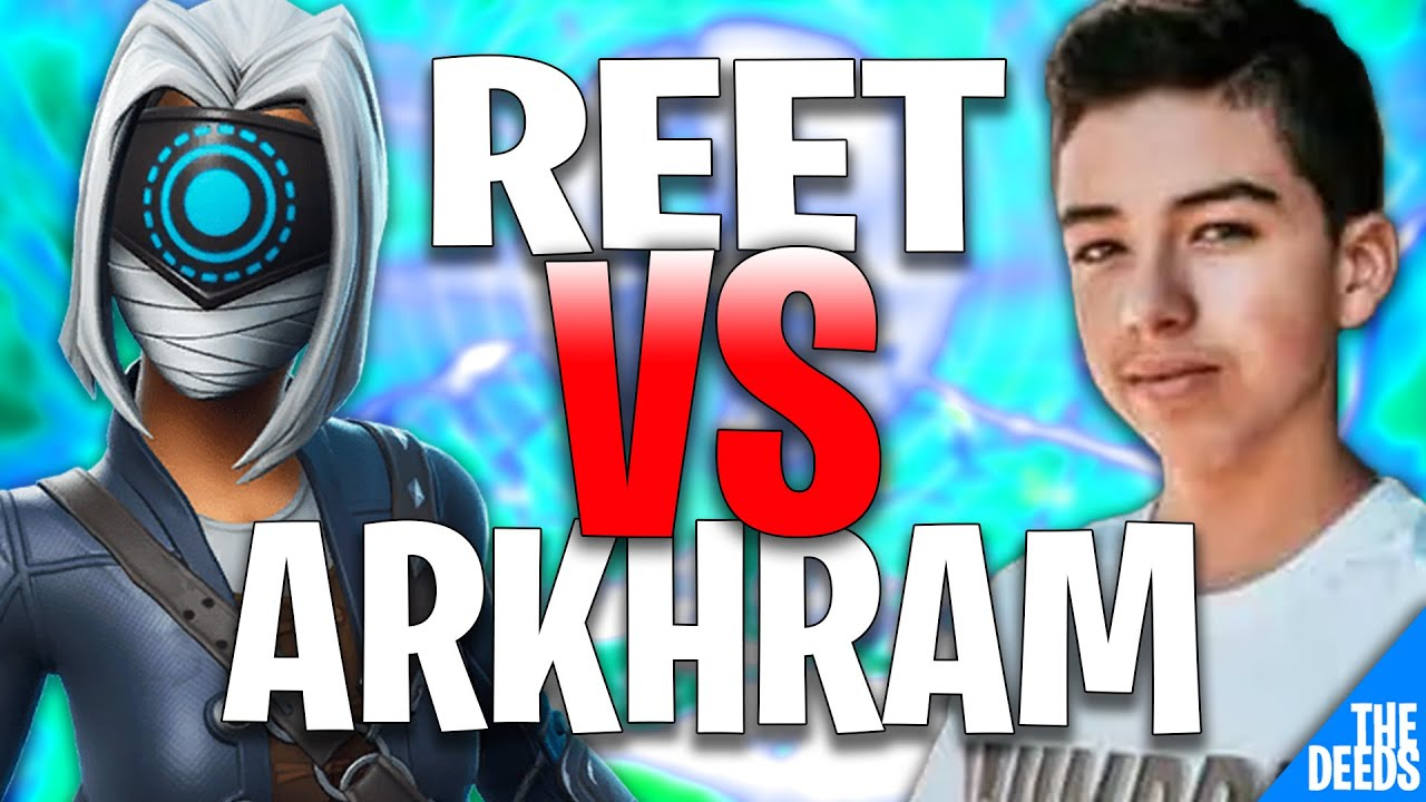 XTRA Reet 1 VS 1 Buildfight 100T Arkhram | Fortnite Creative 1v1 *XTRA VS 100T*