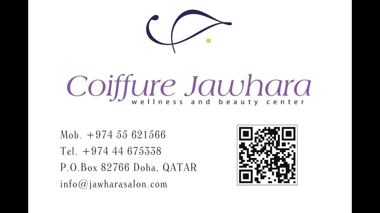 al jawhara coiffeur & beauty salon in doha qatar - youtube