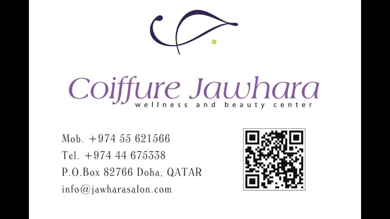 al jawhara coiffeur & beauty salon in doha qatar - youtube
