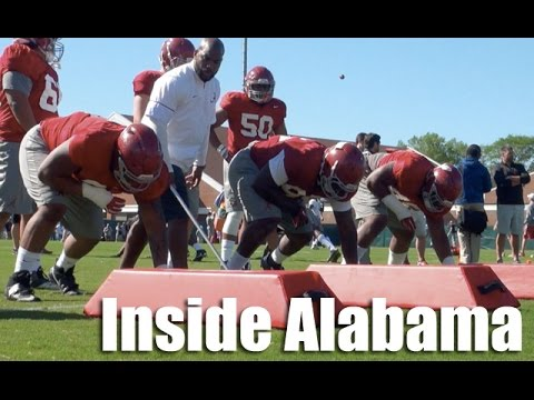 Alabama Football Practice Highlights