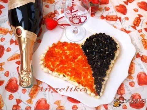 Салат с красной икрой рецепт с фото на Поварру