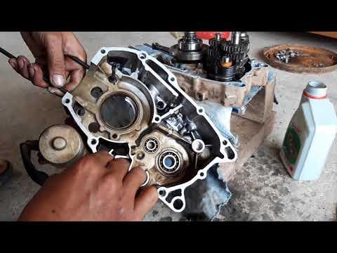 (Hướng Dẫn)Ráp Dên Và Số Xe RSX 110cc