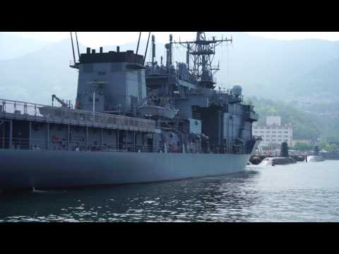 呉艦船巡り(The Tour of Japan Maritime Self Defense Force Vessels in Kure City Japan) a6500 Zhiyun Crane-M