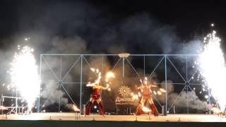 Театр Джива - Золотой Версаль (Огненное шоу, Тольятти, 2014)