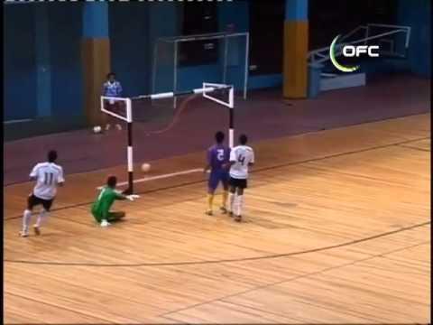 2011 OFC Futsal Championship / Fiji vs Kiribati Highlights