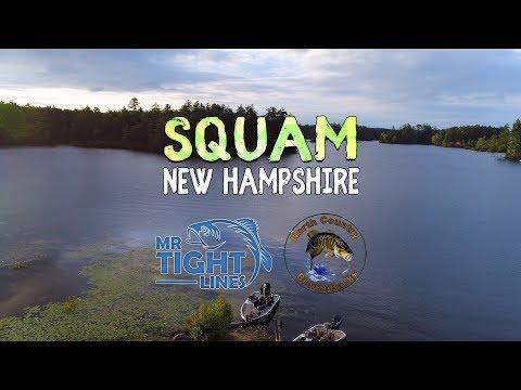 Squam Lake, New Hampshire - Bass Fishing Tournament - North Country Bronzebacks