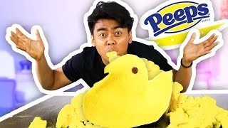 DIY GIANT PEEPS! (WORLD RECORD 5+ LBS!)