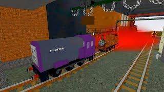 Thomas and Friends roblox railway - Voyage avec Splatter - Jeux de train pour les enfants