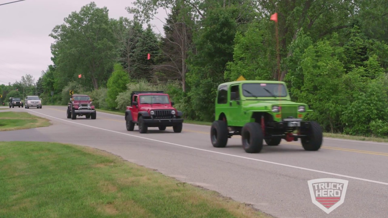 Jeep Invasion Parade Video