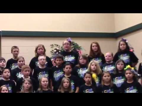 Morgan 5th grade choir  We Are One Nation