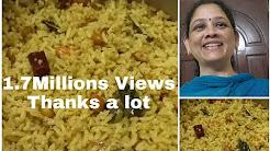 Iyengar Puliyodharai recipe in tamil/ஐயங்கார் புளியோதரை/Iyengar Puliyogare recipe/Tamarind rice