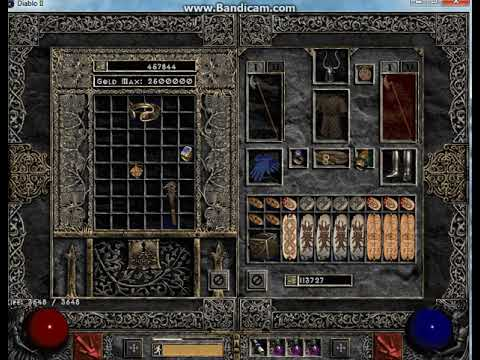 Diablo 2 Single Player: Bear Amazon aka. Fuzzy Dodger