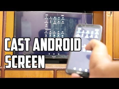 How To Cast Android Screen On Sony Bravia TV