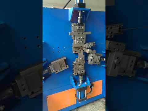 9 shape Spring Steel Wire Clip Forming Machine