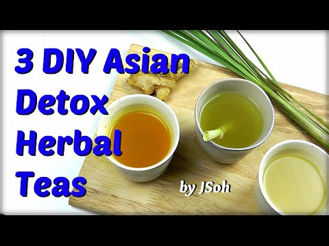 3 DIY Asian Detox Teas + Steam Inhalation Therapy (Body & Mind)