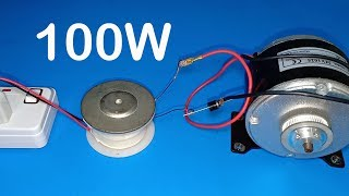 DIY , How to make 100W Transformer out of old speaker parts