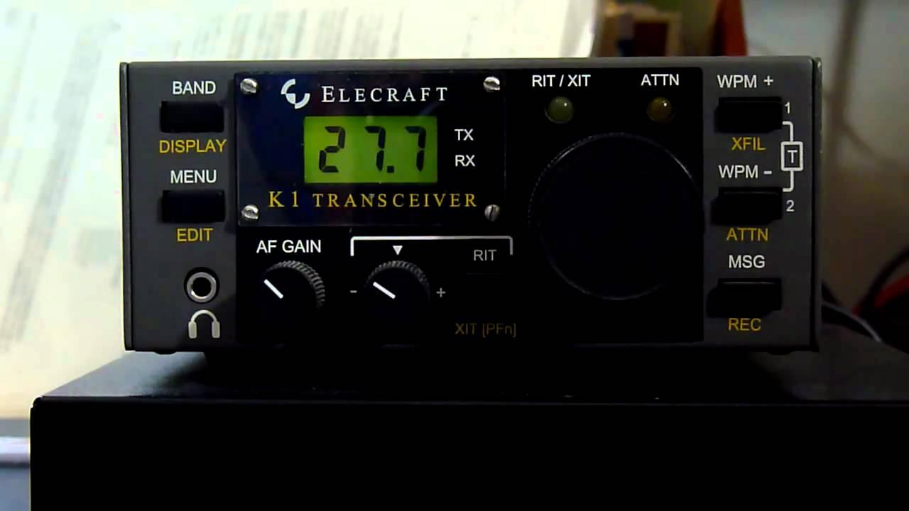 Elecraft K1/CW rig