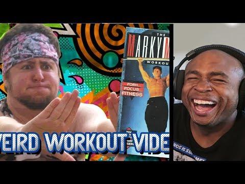 Weird Workout Videos - JonTron REACTION!