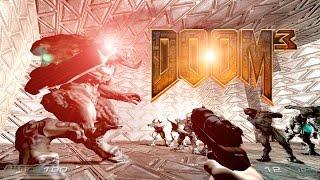 Bosses vs Hell Knights | Doom 3 (PC) | Cyberdemon, Guardian, & Vagary