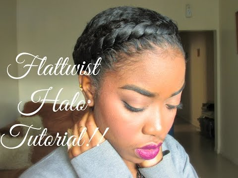 Natural Hair - Protective Styling Halo Tutorial!! from YouTube · Duration:  10 minutes 48 seconds