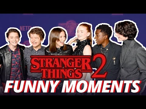 Stranger Things Cast - Cute & Funny Moments (Season 2)