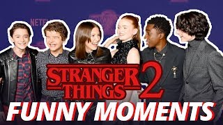 Download Stranger Things Cast - Cute & Funny Moments (Season 2) Mp3 and Videos