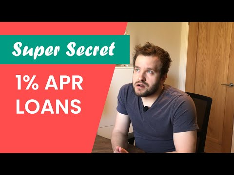 The Secret Way To Get Super Cheap Loans (UK) [less Than 1% APR]