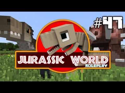 Minecraft Jurassic World: TOO MANY DINOS!! (47) Dinosaurs Roleplay