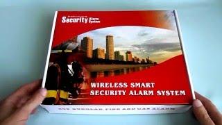 беспроводная GSM сигнализация Security Alarm System обзор и настройка(беспроводная сигнализация для квартиры, дома, дачи, офиса., 2016-03-30T13:44:07.000Z)